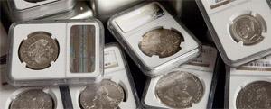 Монеты В Слабах
