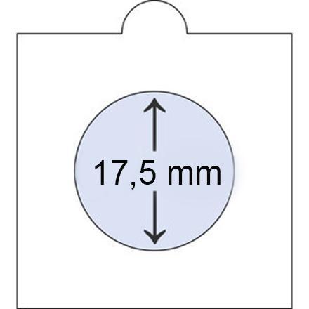 Холдер Самоклеющийся 17,5 мм