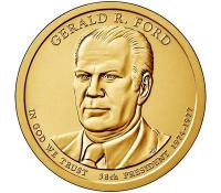 США 1 Доллар 2016 Джеральд Форд 38-й Президент