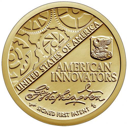 США 1 Доллар 2018 Первый Патент