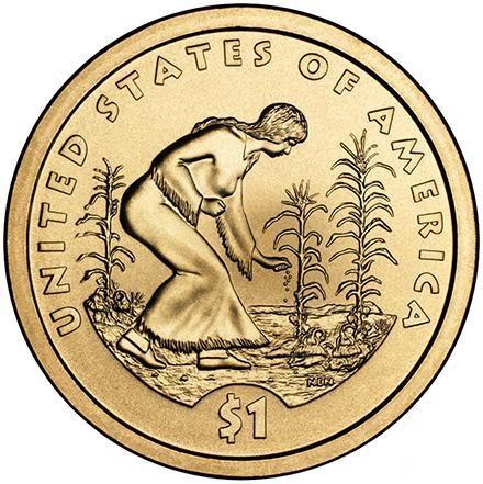 доллар коренные американцы