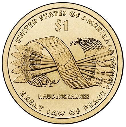 1 доллар коренные американцы