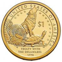 1 доллар индианка