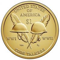 доллары монеты сакагавеи сша