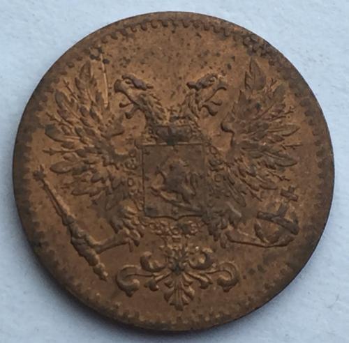 1 Пенни 1917 года
