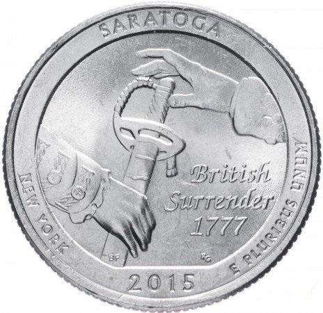 25 центов 2015 квортер нью йорк