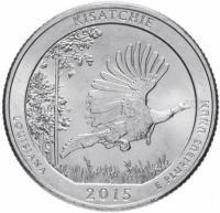 25 центов квотер 2015 США Луизиана