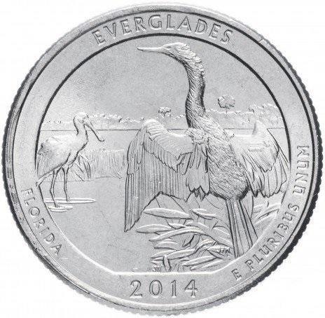 25 центов квотер США Флорида