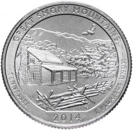 25 центов квотер США Теннесси
