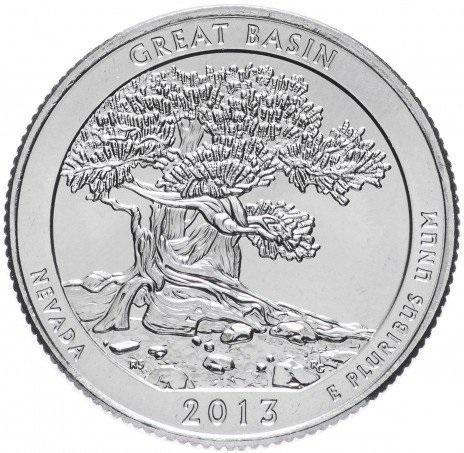 25 центов квотер США Невада