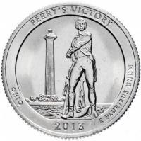 25 центов квотер США Южная Дакота