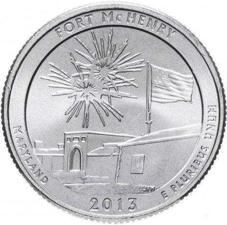 США 25 центов квотер мэрилэнд