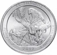 25 центов сша монеты квотер пуэрто рико