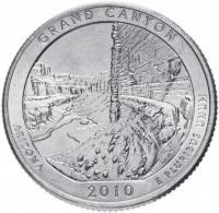 25 центов квотер США