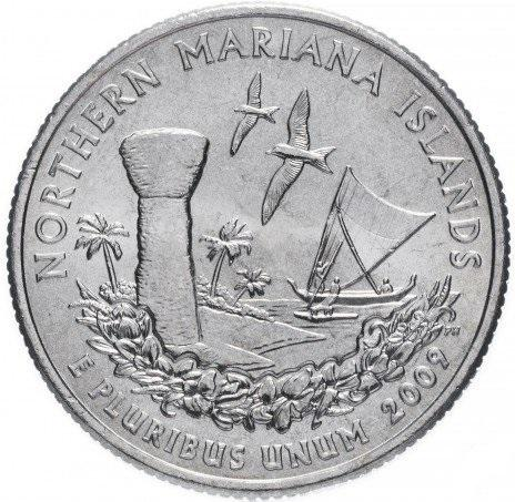 25 центов сша квотер 2009 Северные Марианские Острова