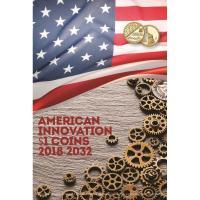 Альбом для монет Американские Инновации и Изобретения