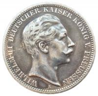 3 марки 1912 года Вильгельм 2