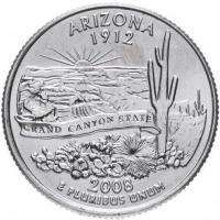 25 центов 2008 Аризона
