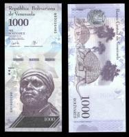1000 боливар 2017