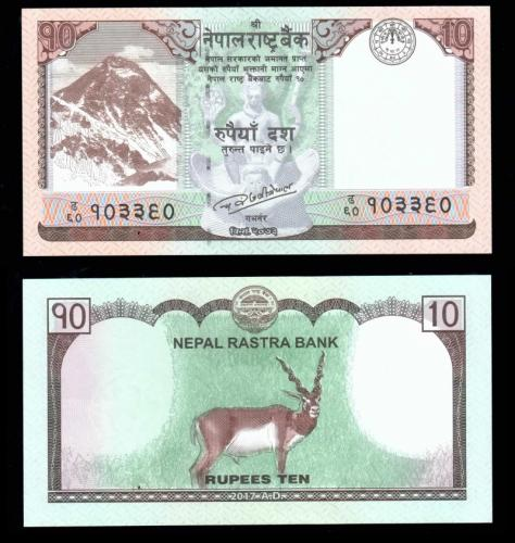 банкноты непала