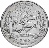 25 центов квотер Невада