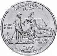 25 центов калифорния