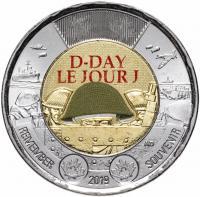 Канада 2 доллара