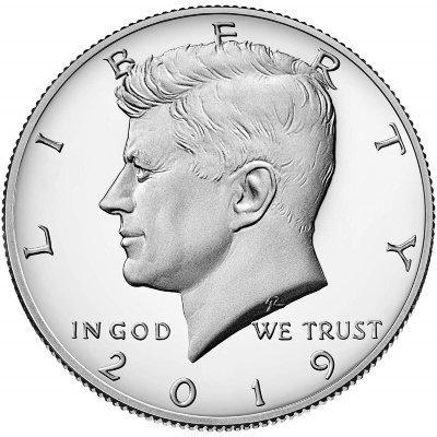 монета сша 50 центов