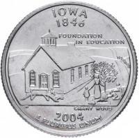 25 центов айова 2004