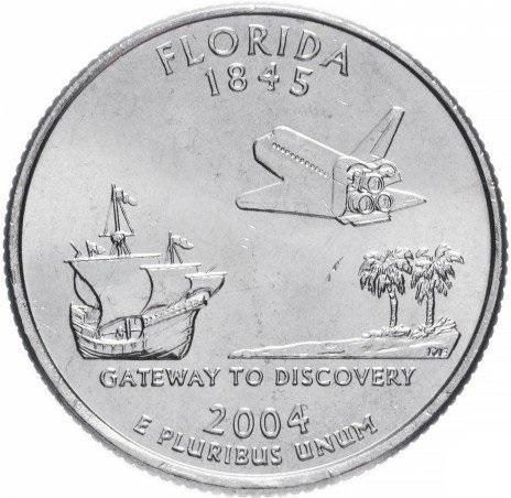 25 центов 2004 флорида