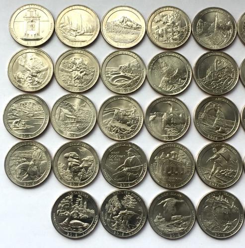 парки сша купить монеты