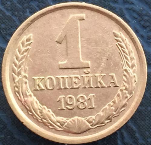 1 копейка 1981 года