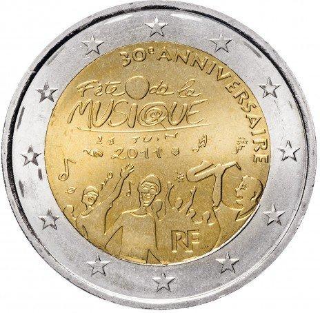 2 евро 2011 франция