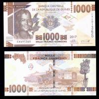гвинея 1000 франков