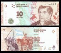 деньги банкноты аргентины