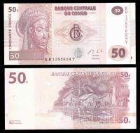 деньги банкноты конго
