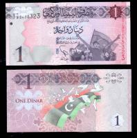 деньги банкноты ливии