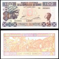 гвинея 100 франков