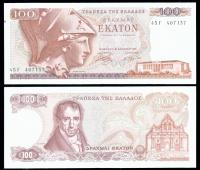 банкноты греции
