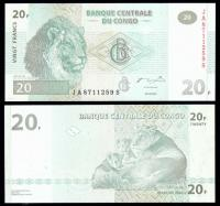 конго 20 франков