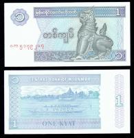Мьянма 1 кьят 1996 года