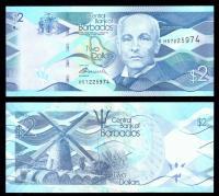Барбадос 2 доллара 2013 года