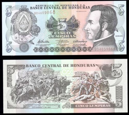 деньги гондурас