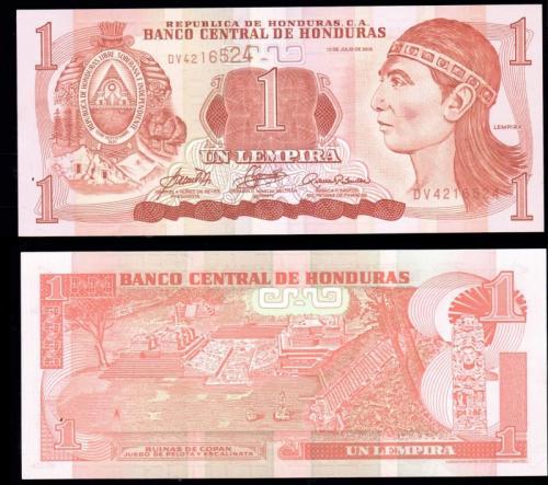 Гондурас 1 лемпир 2006 года