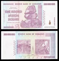 Зимбабве миллион долларов