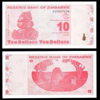 Зимбабве 10  долларов