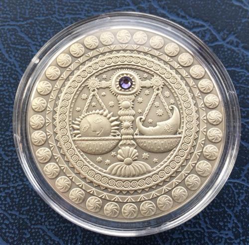 Серебренная монеты знаки зодиака