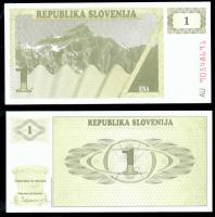 Словения 1 толар 1990 года