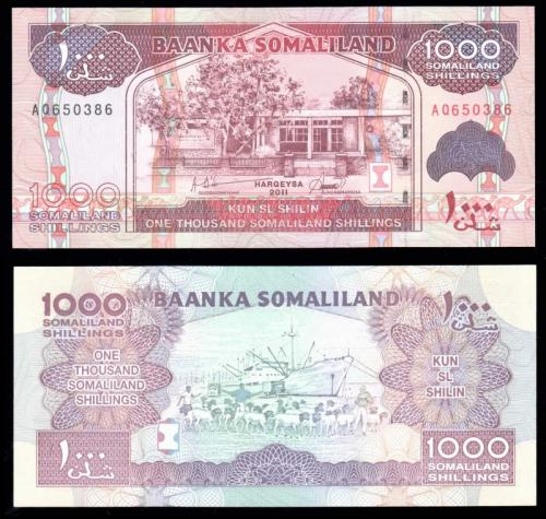деньги сомалиленд