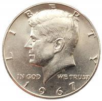 50 центов 1967 года Кеннеди